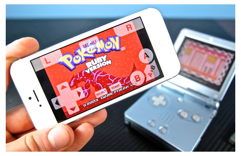 Pokemon Emulator iPhone console